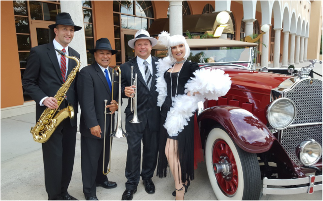 Speakeasy Band Orlando, Corporate Entertainment Orlando, Gatsby Band Orlando, Z Street Speakeasy Band